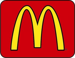 Maccas Logo - Red Box Golden Arches (2)